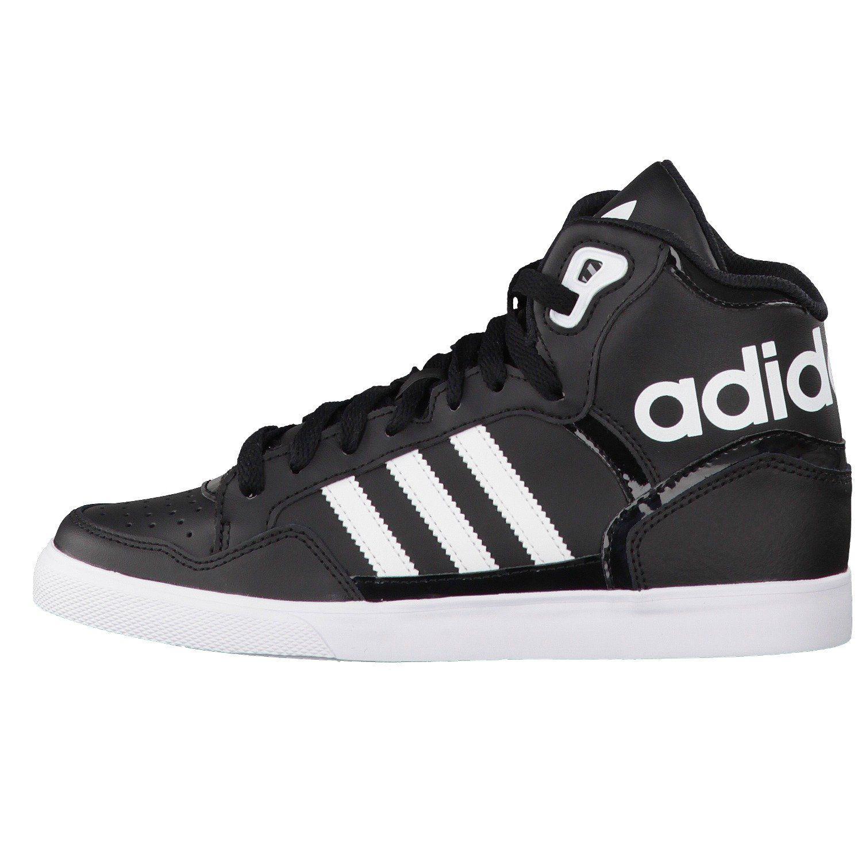 Amazon.com: Adidas Women\u0027s Extaball W, BLACK/WHITE: Shoes