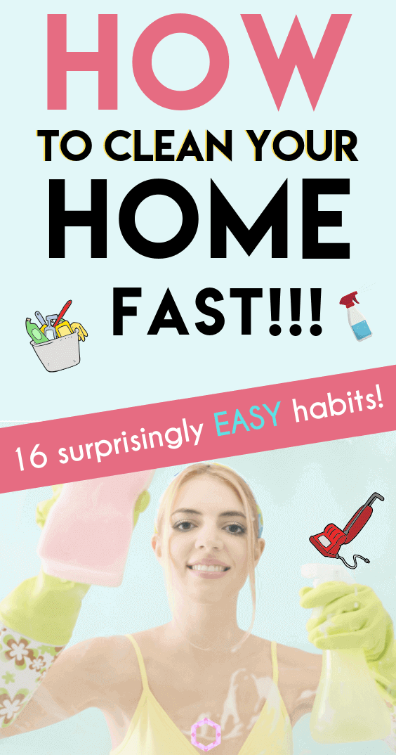 16 Everyday Habits for a Clean Home - Everything Abode
