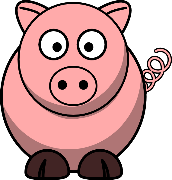 cartoon clipart free pig cartoon clipart piggie bank pinterest rh pinterest com clip art pigs in mud moonshine clip art pigs free