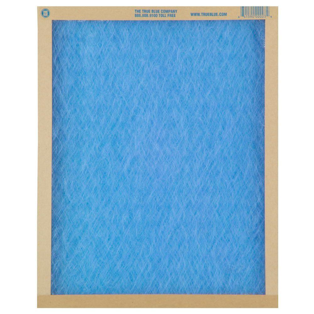 True Blue 16 In X 25 In X 1 In Fiberglass Fpr 1 Air Filter 12 Pack Air Filter Furnace Filters True Blue