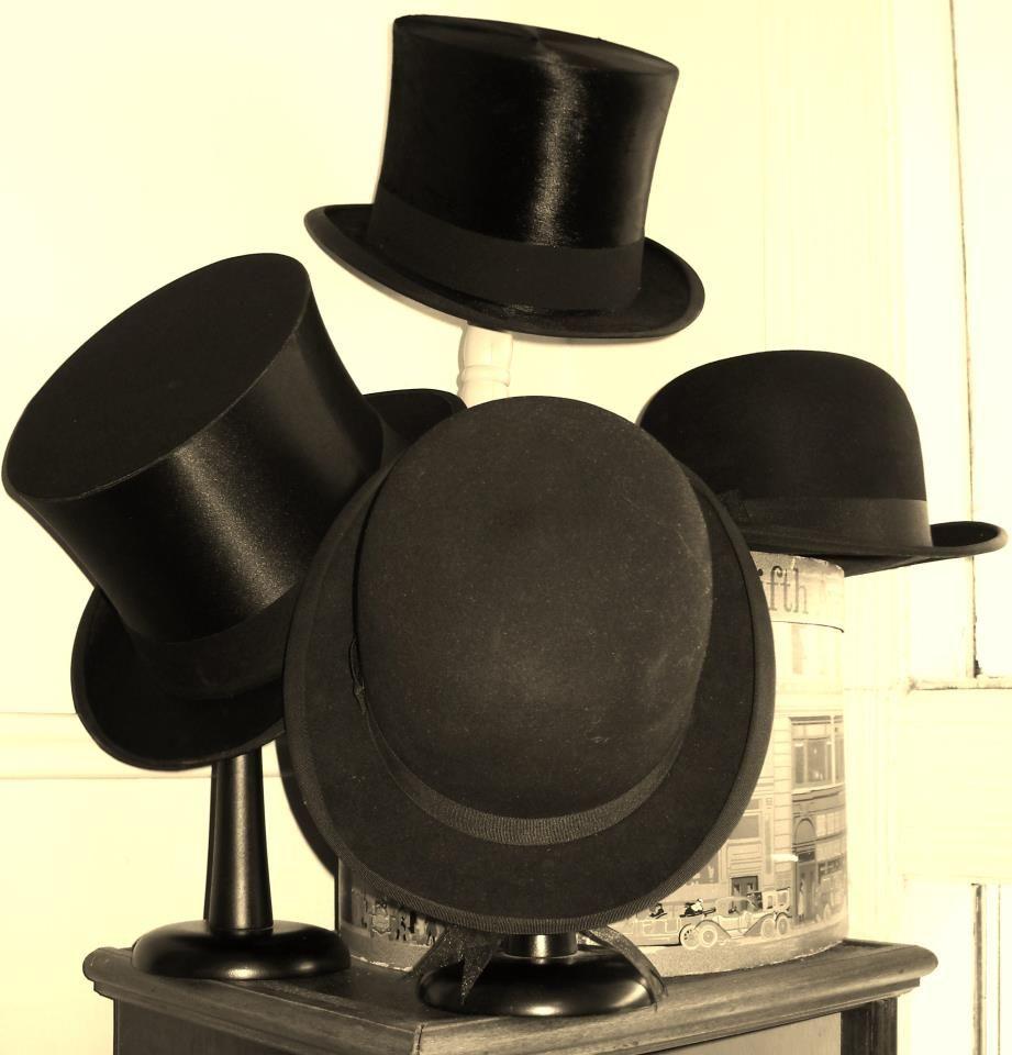 Pin By Bygones Vintage On Store Displays Hat Display Hats Vintage Top Hat