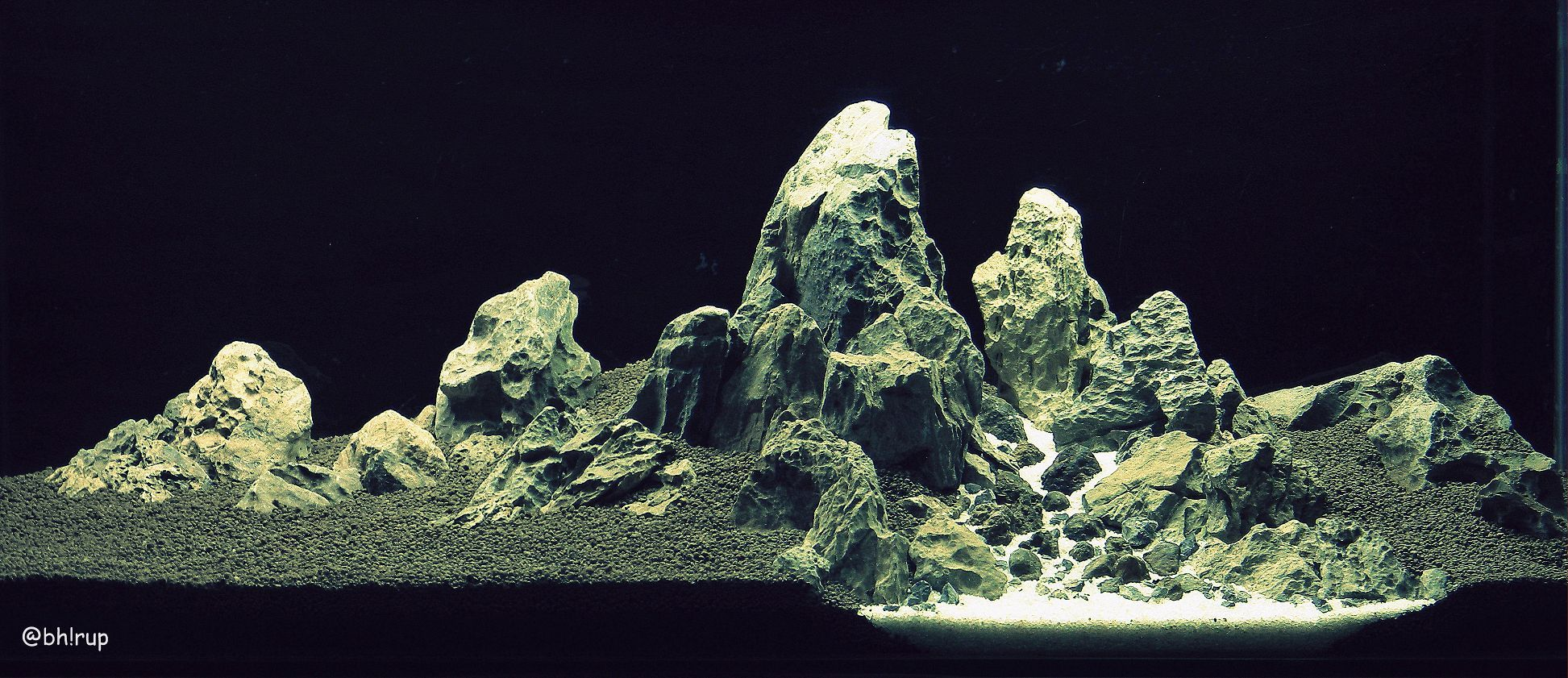 Land Of The Glorious Mountains : #Hardscape Tank Dimension : 48*18*18