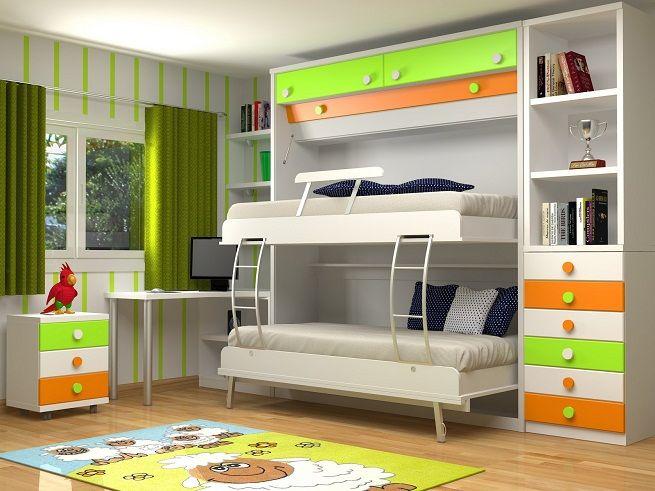 Camas para ahorrar espacio en el dormitorio Ideas para dormitorios