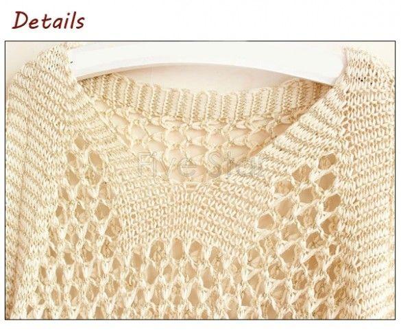 Nueva llegada 2014 mujeres suéter hecho punto suéter suéteres sueltos suéter hueco hacia fuera hilo de oro pullover 24 en Jerseys de Moda y Complementos Mujer en AliExpress.com | Alibaba Group