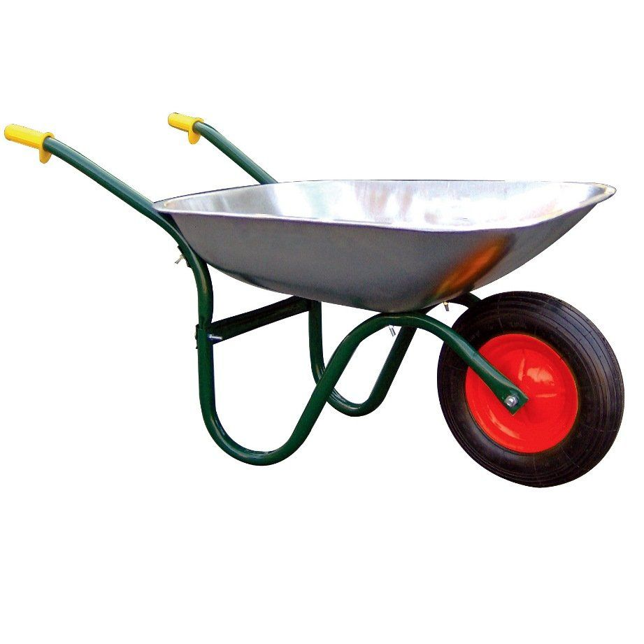 Sealey Galvanised Heavy Duty Wheelbarrow Wheelbarrow Galvanized Heavy Duty Wheelbarrow