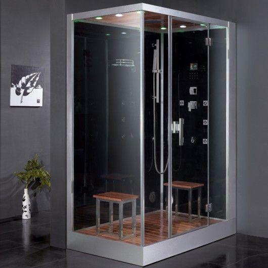 Ariel Platinum Dz961f8 R Steam Shower Features Six Body Massage