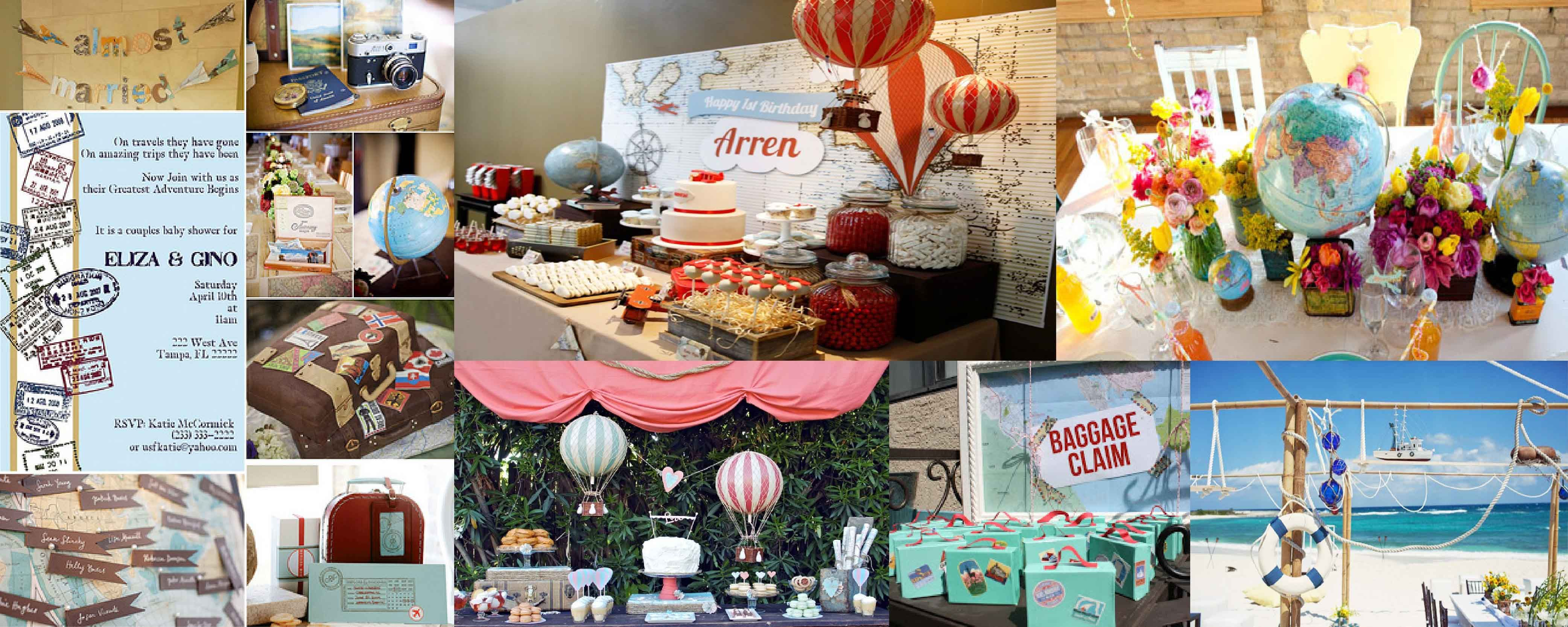 Good Christmas Around The World Party Ideas Part - 4: Around The World Birthday | Special-around-the-world-party-decorations