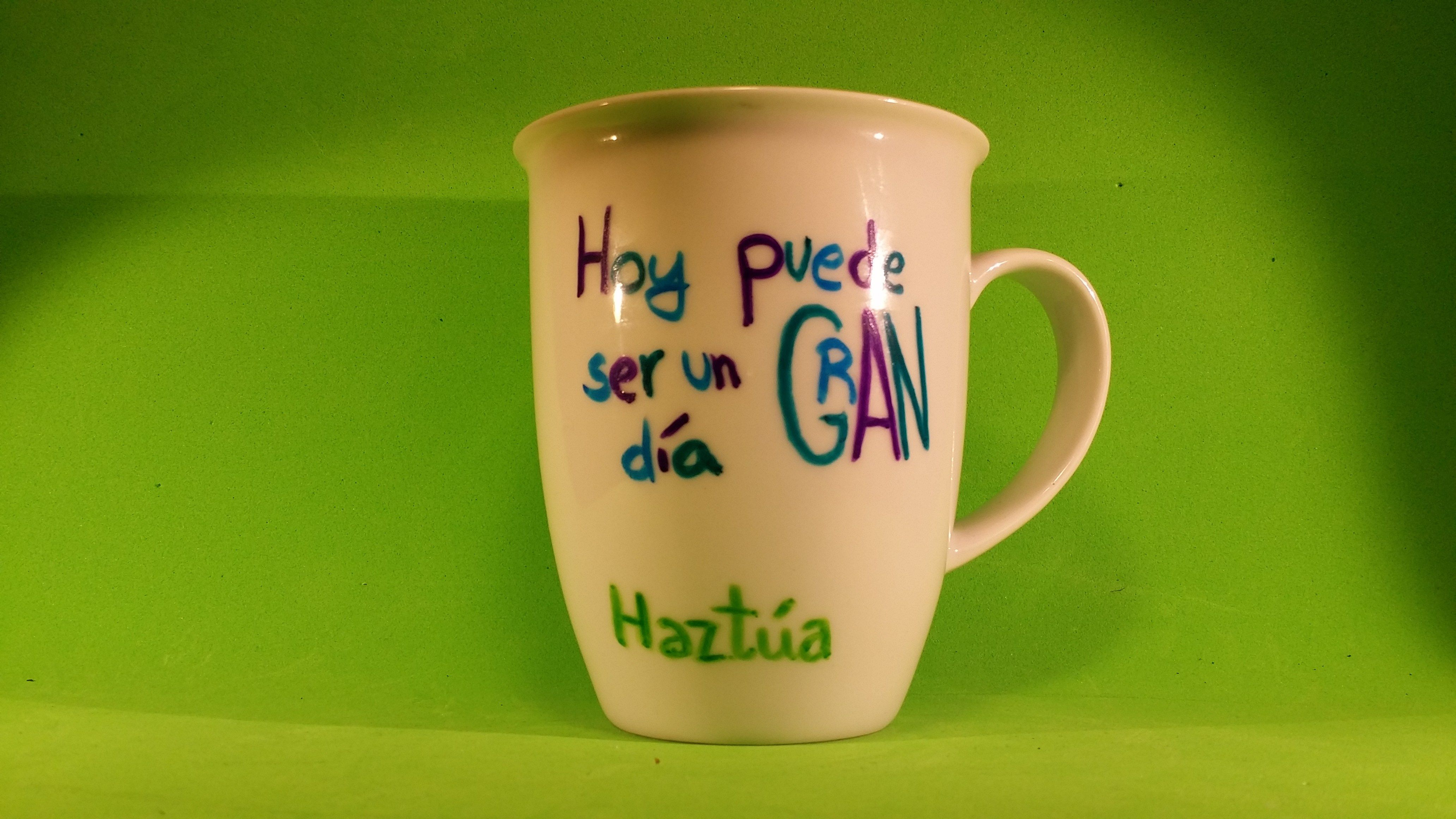 """Taza Mug """"Hoy puede ser un gran día"""""""