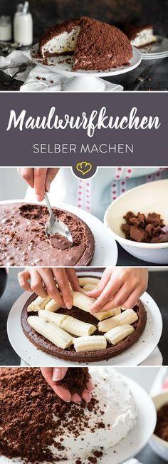 Backmischung adé: Maulwurfskuchen selber machen   - Dessert -