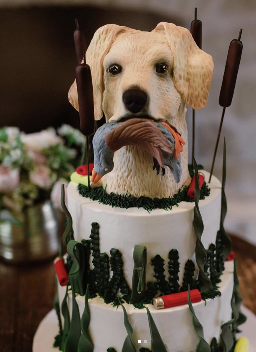 A 3d Groom S Cake For A Fantastic Couple Photography Jennarouth Grooms Cake Cake Design Cake