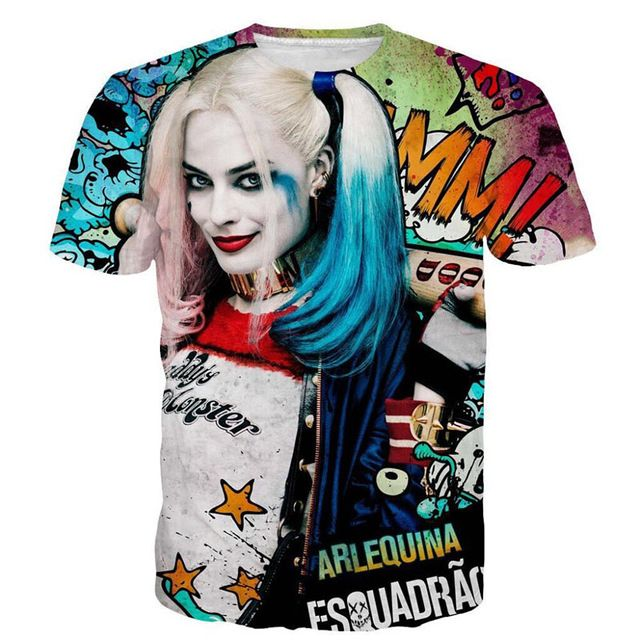 Harley Quinn Deadpool T-Shirt Suicide Squad