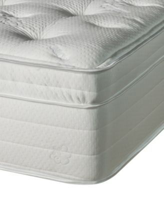 Jazmine Latex 17'' Ultra Plush Euro Pillow Top Mattress- Queen #pillowtopmattress