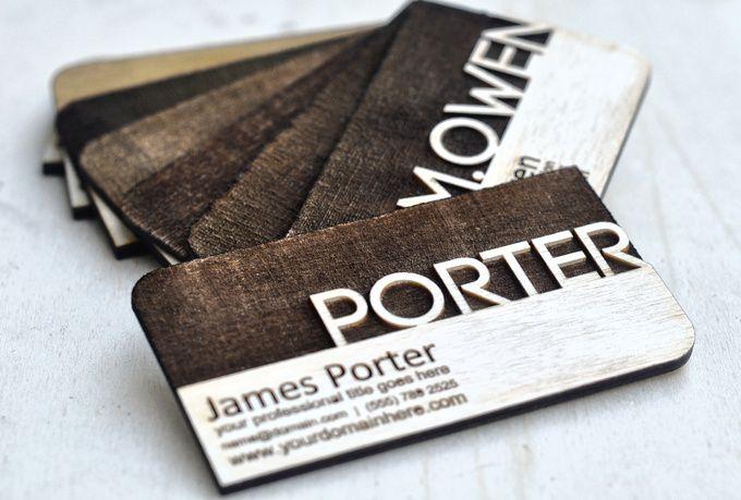 Laser Engrave A Creative Business Card Fiverr Lasercut