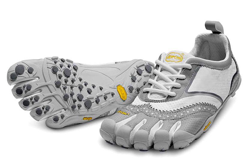 newest 0c04f ec7ae Vibram Fivefingers V-Classic Sz 41 Mens Running Shoes White Grey New