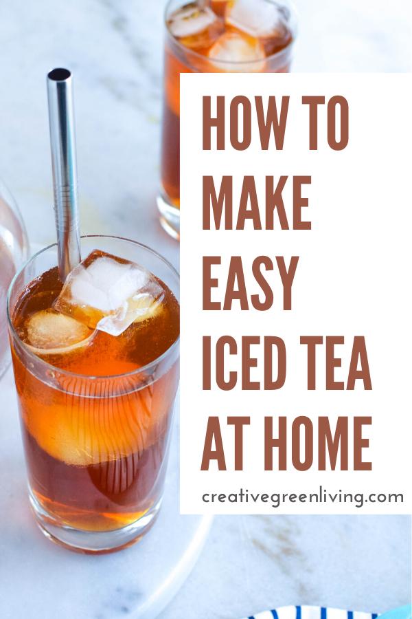 Photo of How to Make Perfect Homemade Iced Tea