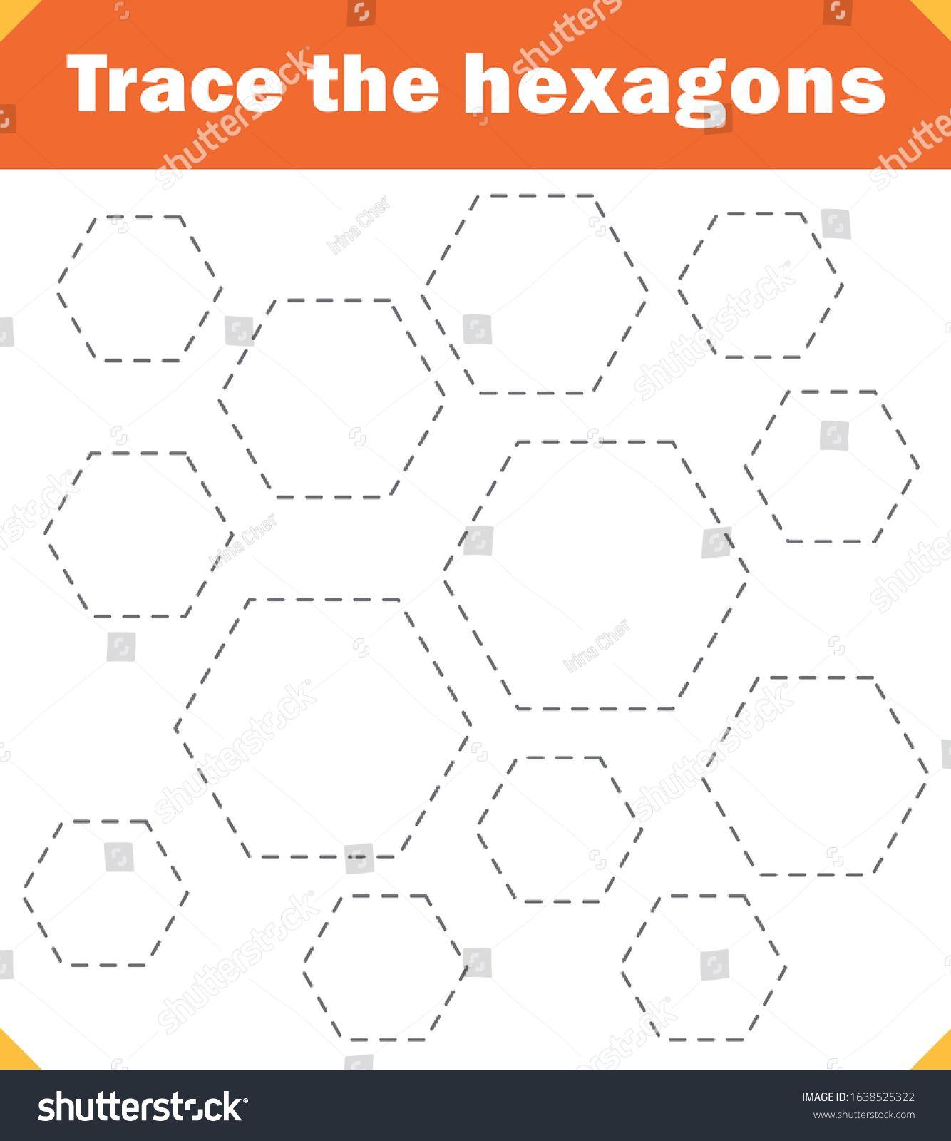 Preschool Worksheet Trace The Hexagons And Color Tracing Worksheet Ad Spon Trace Worksheet Preschool Hexago Business Photos Tracing Worksheets Graphing [ 1600 x 1334 Pixel ]