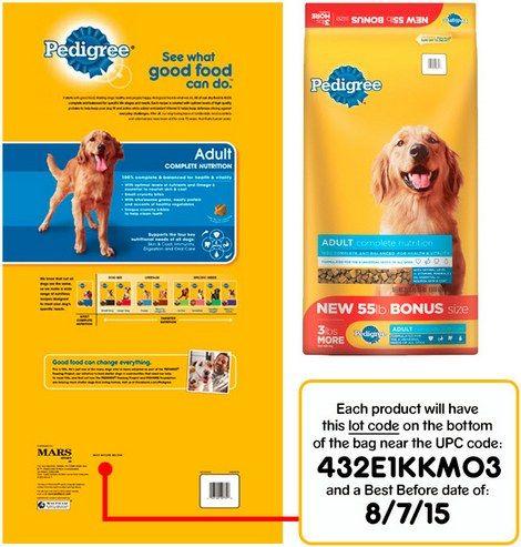 Pedigree Dog Food Recall Expanded Dog Food Recall Dog Food