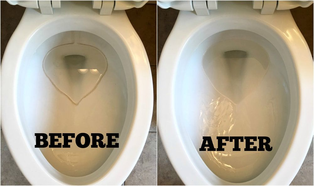 How To Remove Hard Water Stains From Toilets Toilet Cleaning