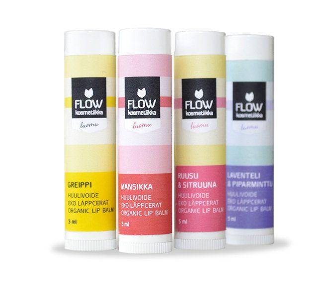 Laventeli-Piparminttu huulivoidepuikko 5ml - FLOW kosmetiikka