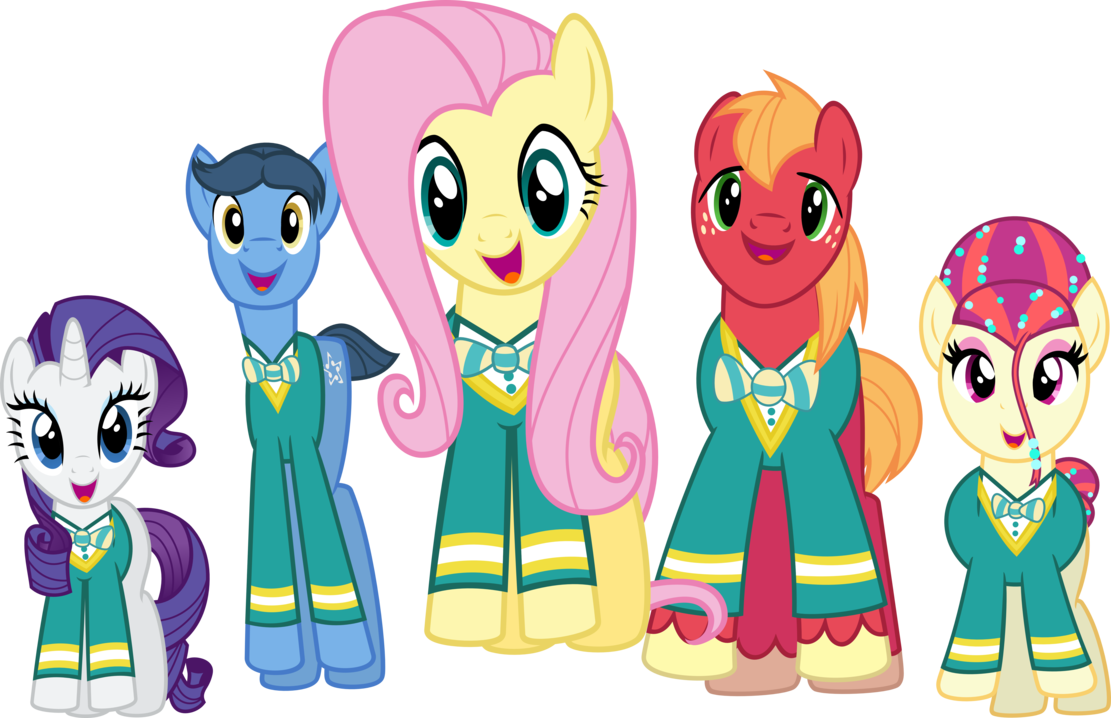 The Ponytones by dcencia