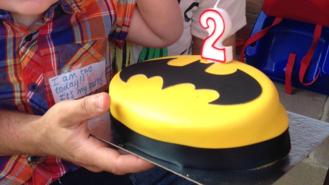 Batman Birthday Cake From Asda Boys Bedroom Inspiration