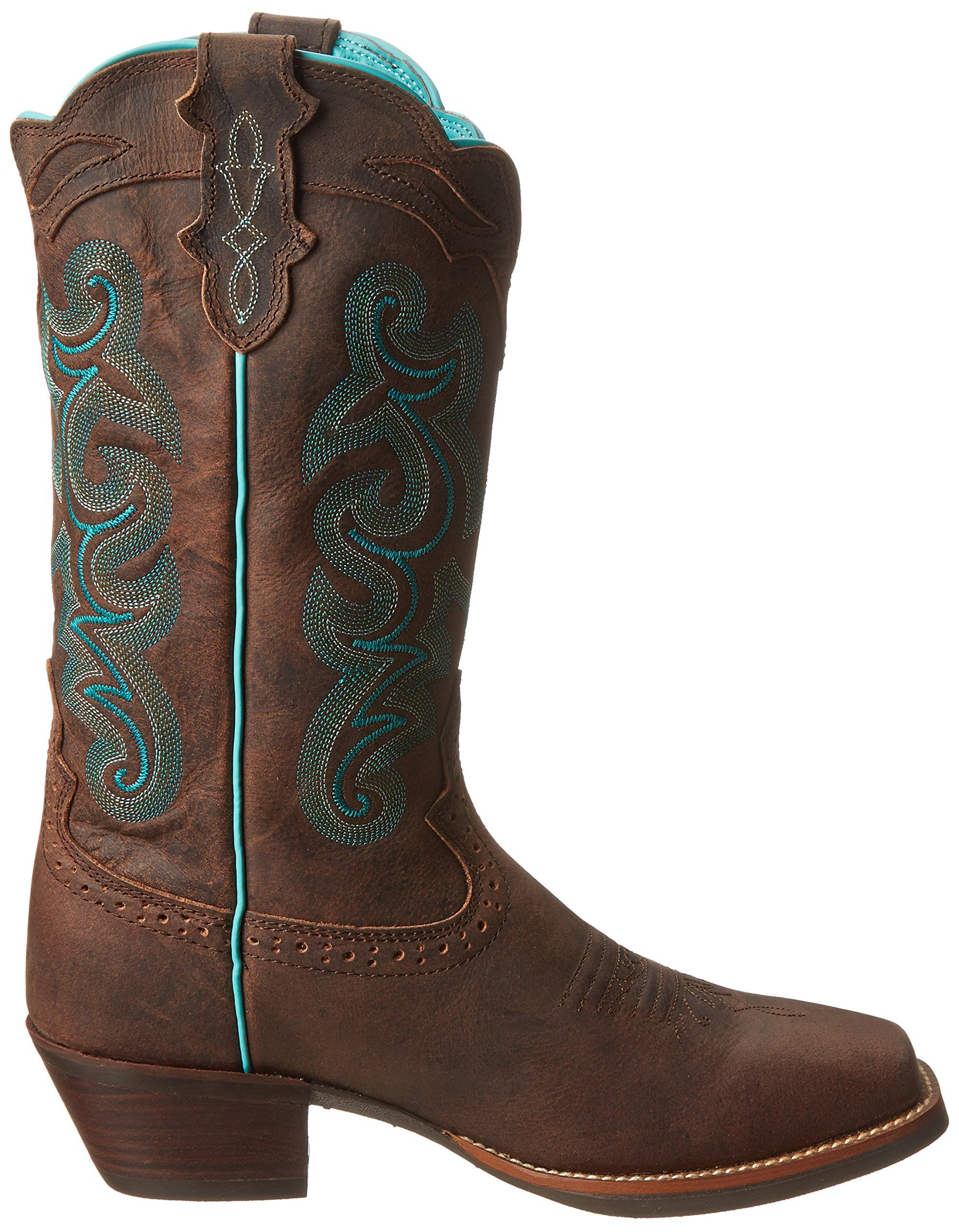 Amazon Com Justin Boots Women S Stampede Sliver