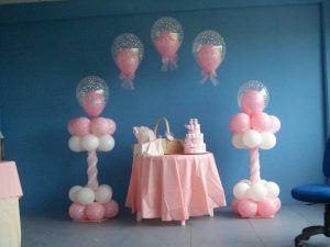Beautiful Decoracion Con Globos Para Baby Shower De Niña (4) (FILEminimizer)