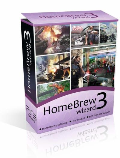 Homebrew3Wizard - Play Homebrew Games on Your PS3
