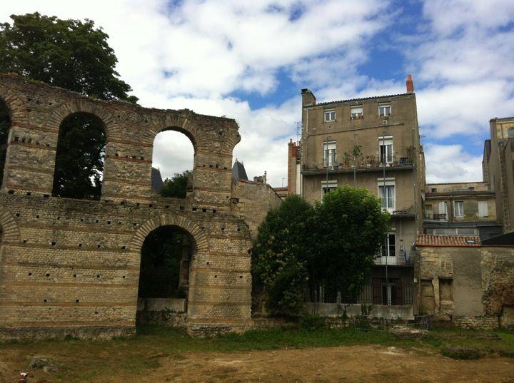 Ruines du Palais Gallien, en plein centre !