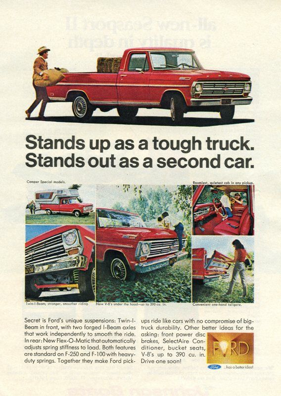 1968 FORD F100 Information Specifications Resources Pictures