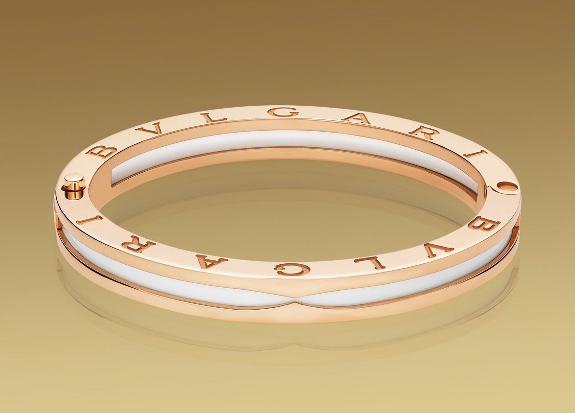 Bzero bangle bracelet in pink gold my style pinterest bangle