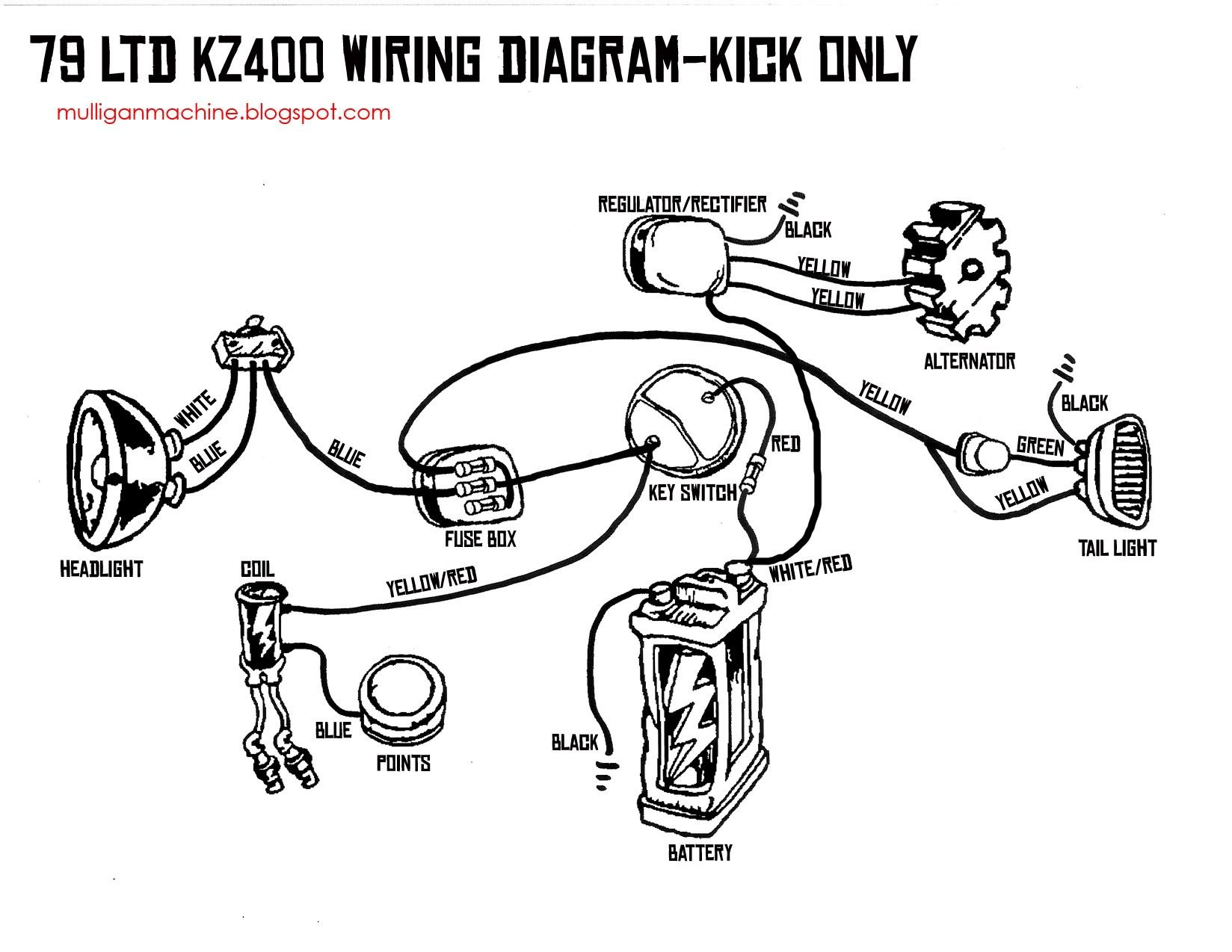 Kick only wiring diagram