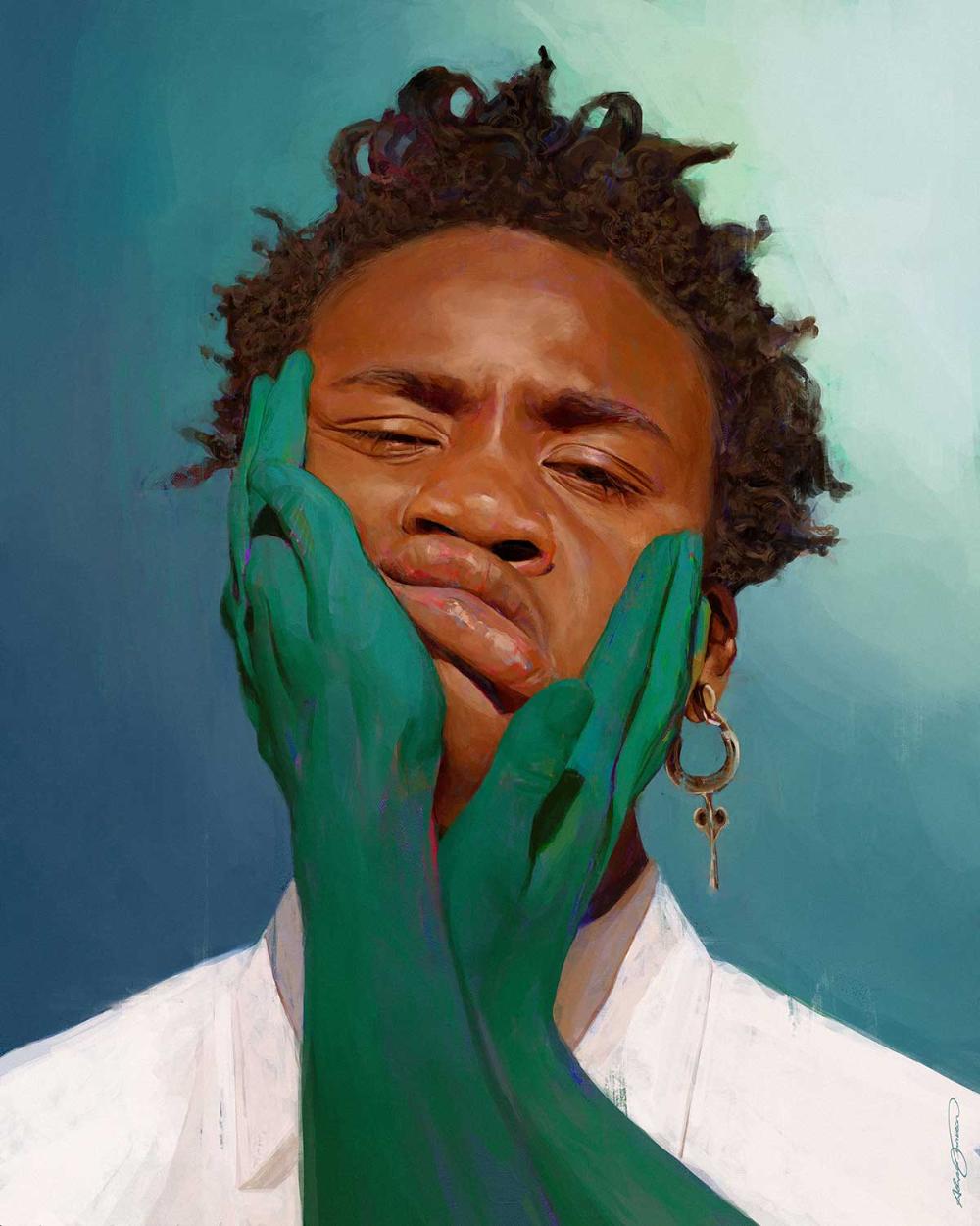 Digital Paintings von Alexis Franklin