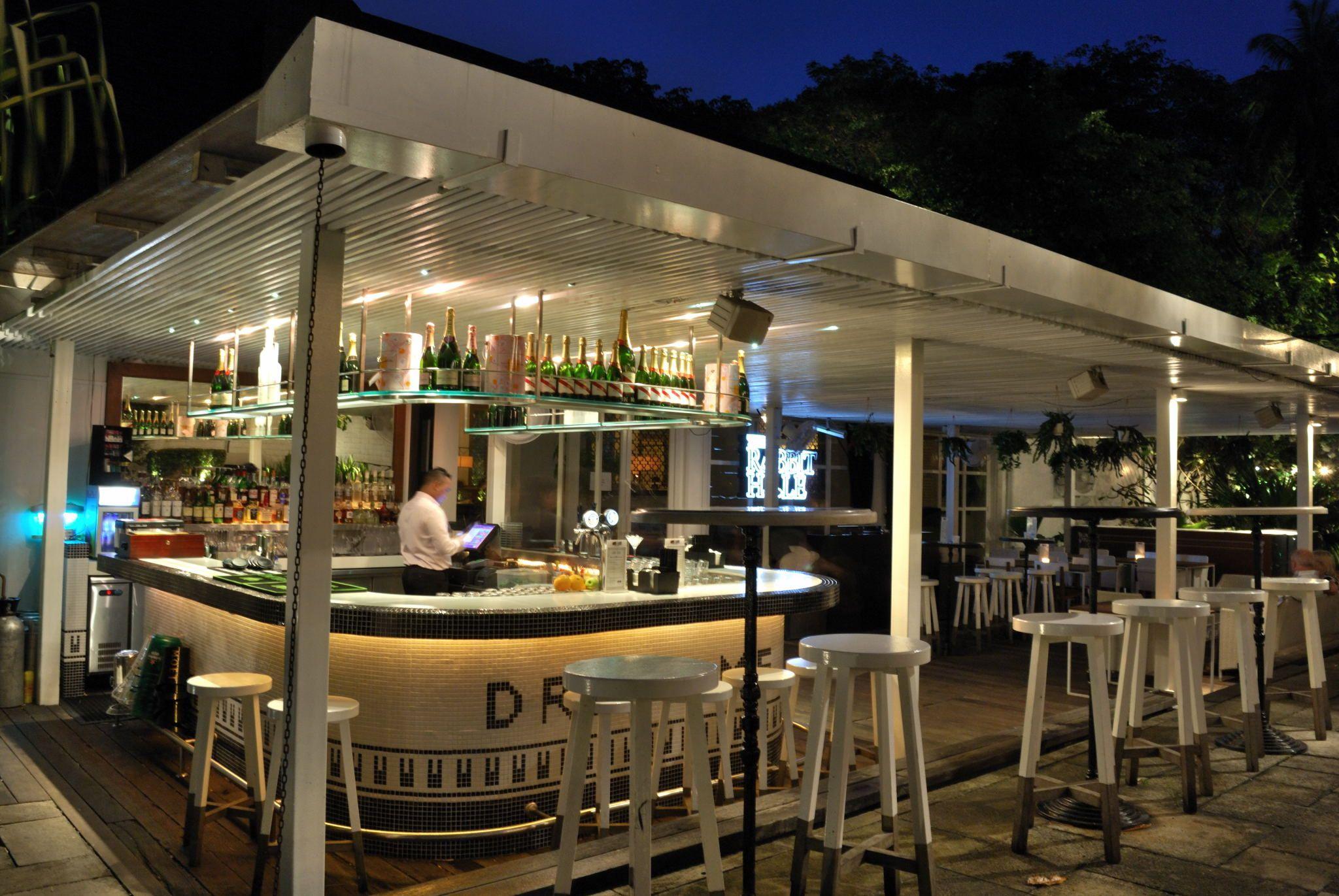 Image Result For Restaurant Outdoor Bar White Rabbit Singapore Lounge Rabbits