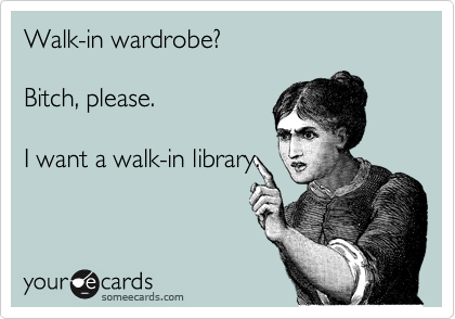 I'd actually like both but if I have to choose I'll take the library.