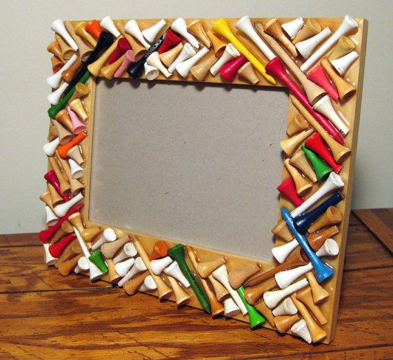 Golf Tee Frame, DIY