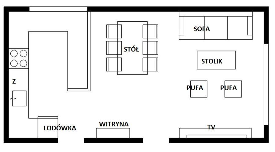 Kuchnia Polaczona Z Salonem Modern Kitchen Home Interior