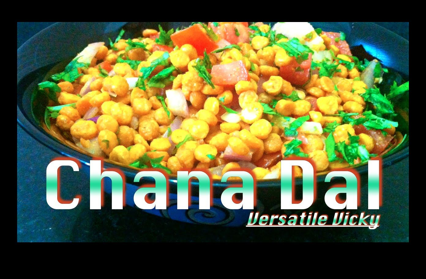 Weight Loss Snack - Low Calorie High Protein Chana Dal / Bengal Gram Sna...