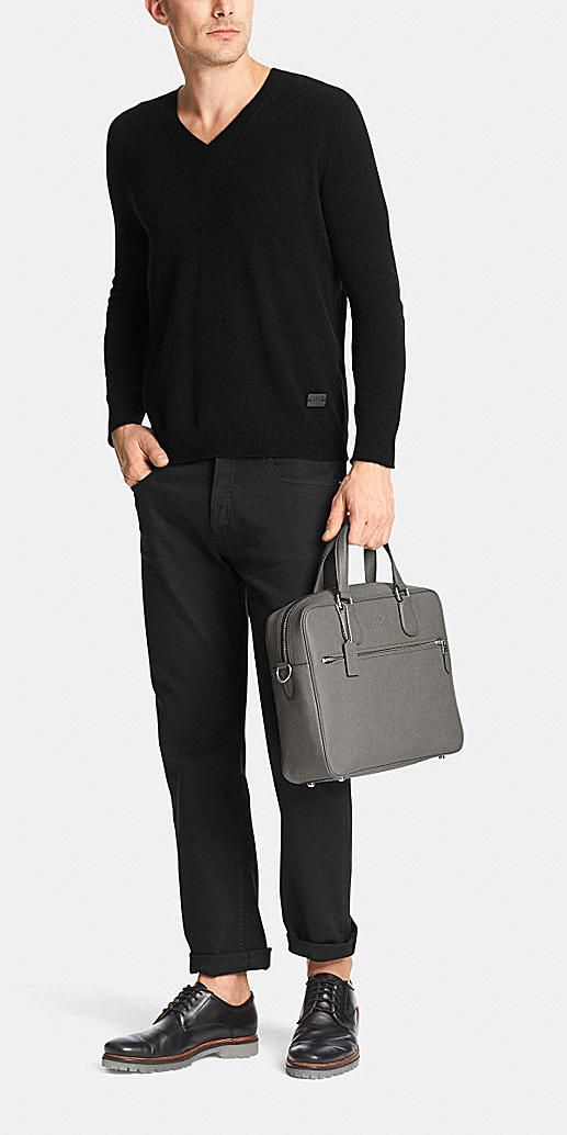 Coach Hudson Bag in Crossgrain Leather