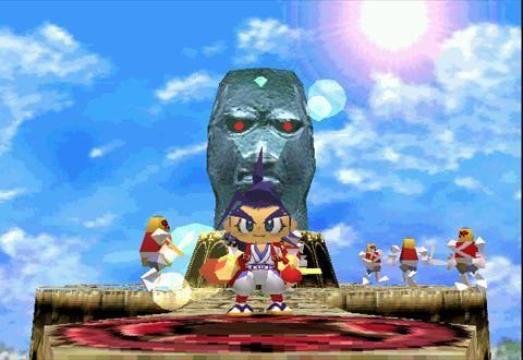 Brave fencer musashi.. tower