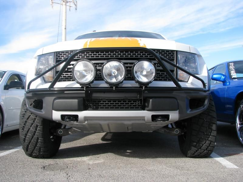 F093lh 09 14 ford f150raptor pre runner no drilling required f093lh 09 14 ford f150raptor pre runner no drilling required pre runner mount up to three 9 inch lights all bolt on design that wont flex 095 wall aloadofball Gallery