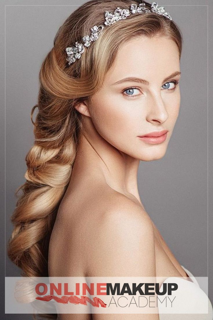 Beautiful Greek Braid created by Online Makeup Academy for