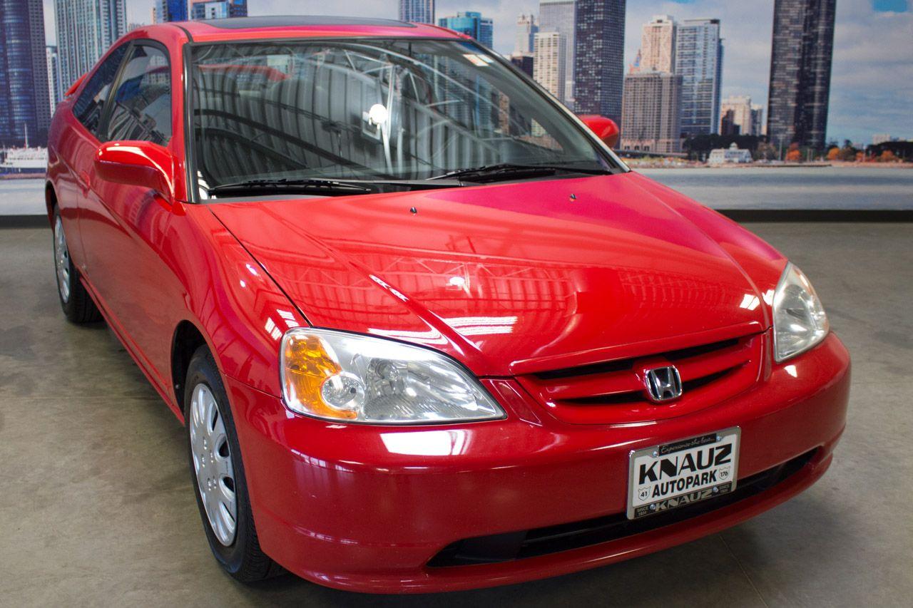 2002 Honda Civic EX Coupe for sale in North Chicago, IL