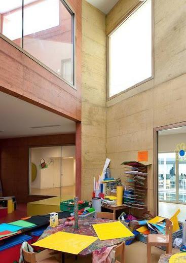 Crche De LEurope Childcare In Sierre Switzerland By Giorla Trautmann Architectes