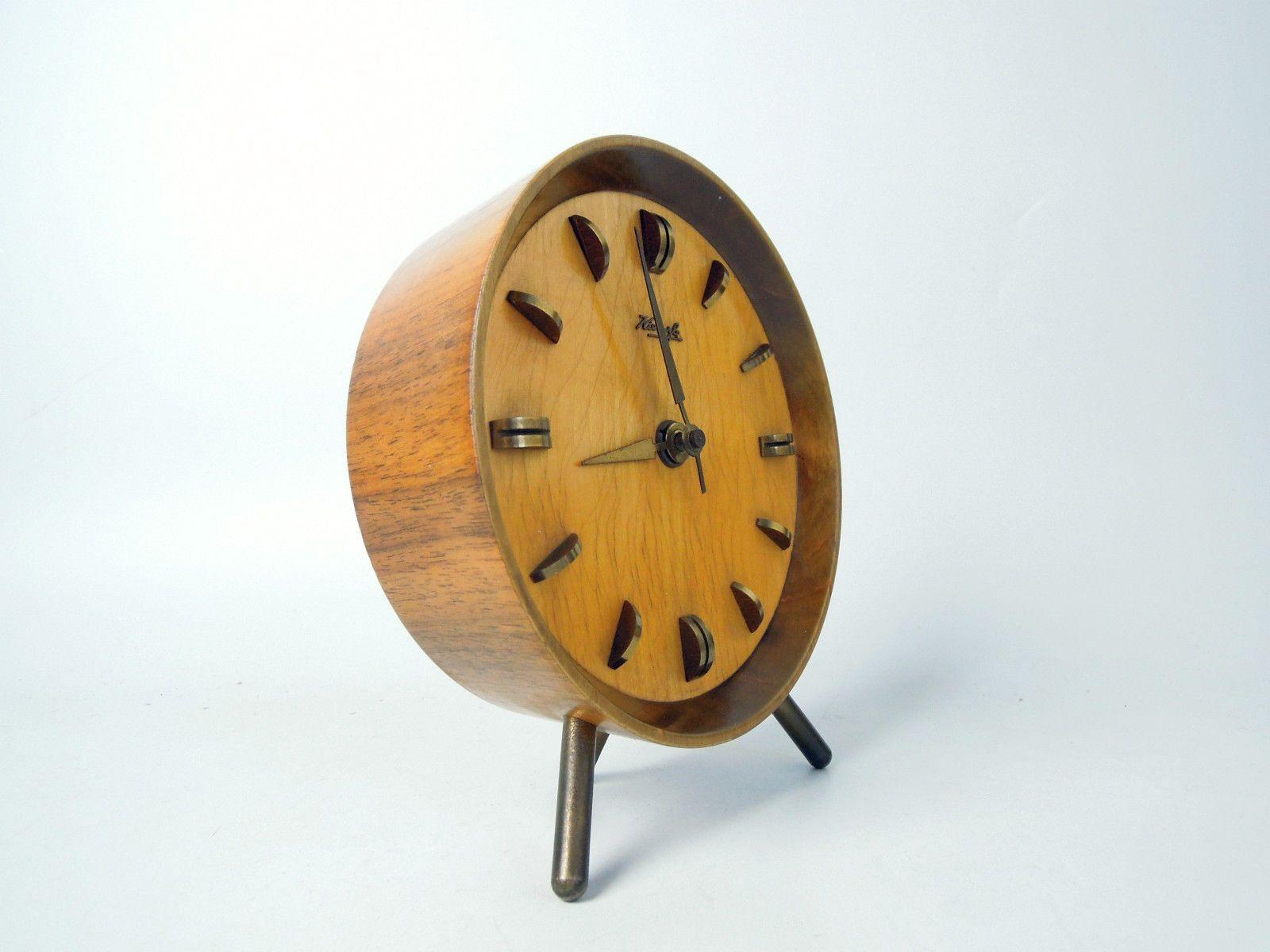 Details about DESIGN ANKER DESK CLOCK MID CENTURY MODERN ...