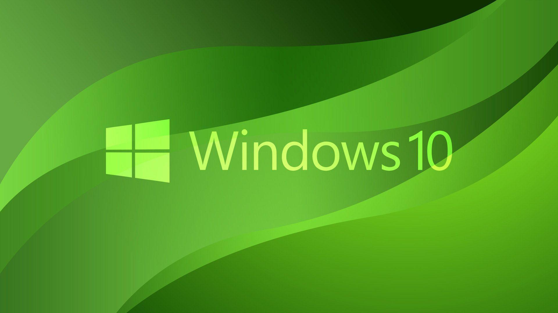 Logo Green Windows 10 Wavs Windows 10 Windows 10 Logo Windows