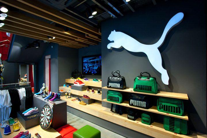 2a458af65d72 Puma Store by Plajer & Franz Studio, Paris | store retail design ...