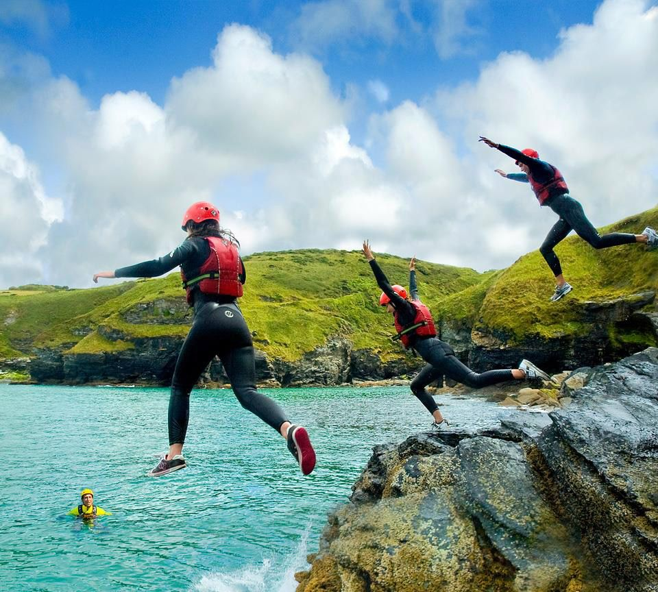 Everything you need to know about Coasteering before you head off on an adventure you won't forget! https://www.outdooradventure.co.uk/blog/a-basic-guide-to-coasteering-essentials-for-the-beginner/