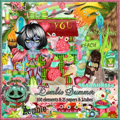 Summer Zombie Kit Anime, Kit, Zombie apocalypse
