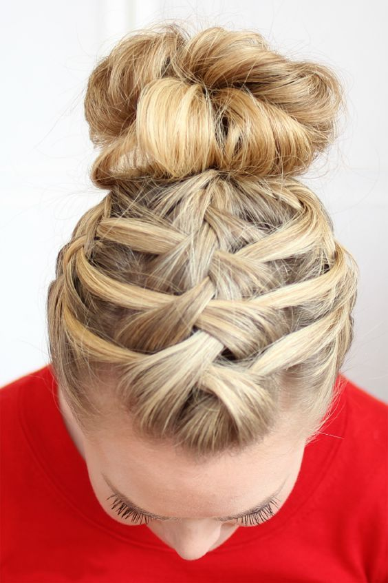 5 Different French Braids Hairstyles 2019 Great Memorable Hairstyle For New Year Braided Hairstyles Updo Hair Styles Long Hair Styles